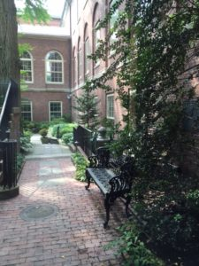 Courtyard at RISD Museum