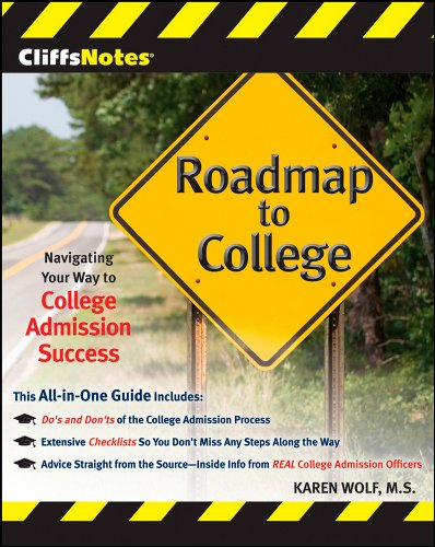 CliffsNotes Roadmap to College: Navigating Your Way to College Admission Success