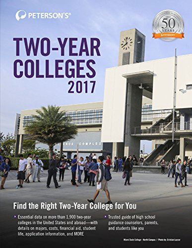 Two-Year Colleges 2017 (Peterson's Two-Year Colleges)