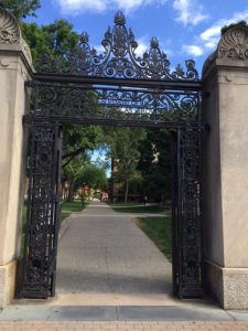 Brown Gates