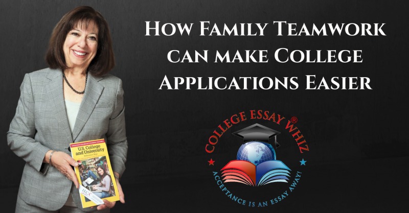 How Family Teamwork can make College Applications Easier